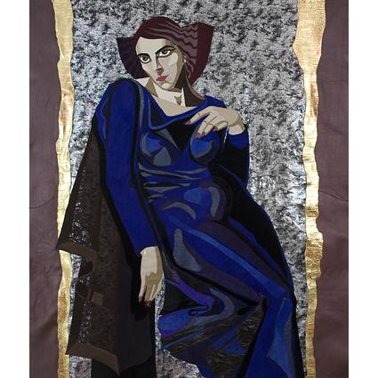 Blue lady 1