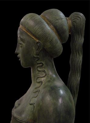 Circe particolare, brons