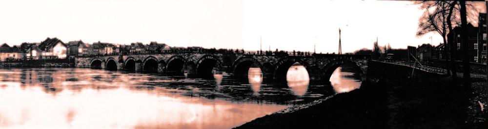 Oude 'Oude brug' van Maastricht