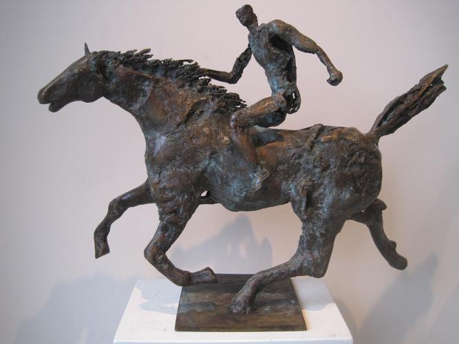 Ruiter te paard