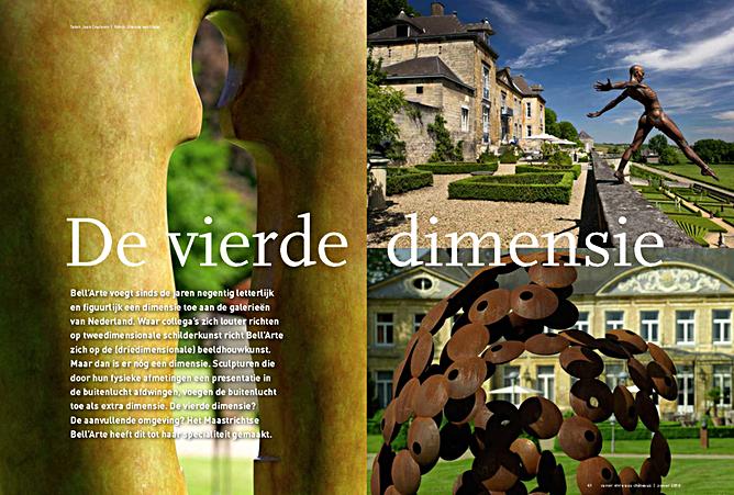 De vierder dimensie, artikel uit Savoior Vivre aux Château