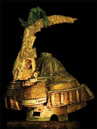 The distand warrior of Nemrut Daği