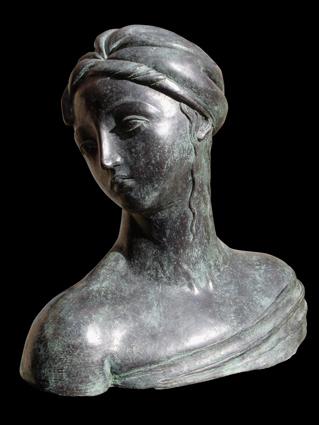 Busto di Circe, brons