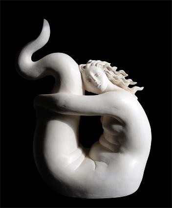 Piccola Sirena acciambellata